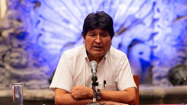 Evo Morales buscará hoy unir a su partido MAS desde Buenos Aires