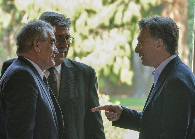 Reforma laboral. Macri firmó un convenio con entidades del agro.