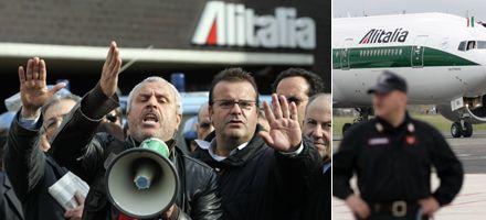 Crédito del gobierno le dará a Alitalia un año de vida