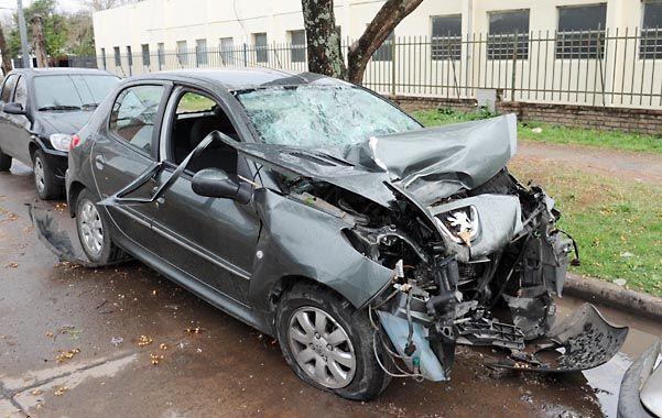 El Peugeot que robaron los chicos