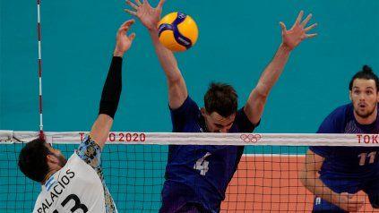 Argentina no pudo con la categoría de l,os franceses y ahora buscará la medalla de bronce ante Brasil.