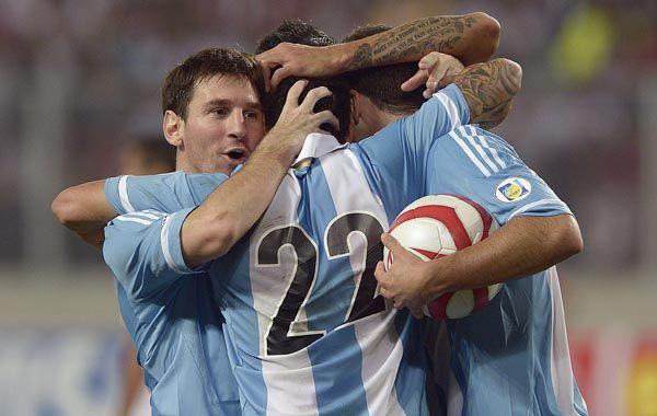 No hay un equipo detrás de Messi