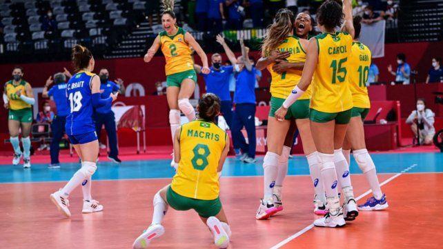 Brasil se medirá en semifinales contra Corea del Sur