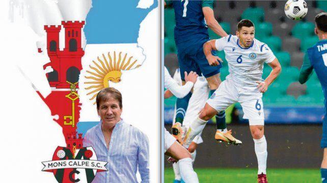 Blanco estuvo hace poco dirigiendo a Mons Calpe de Gibraltar. El ex Newell's Rossi ya juega en la selección de San Marino.
