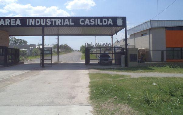 La actual zona industrial