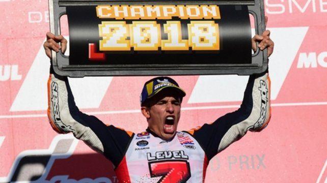 Márquez. Campeón 2018 en Japón.