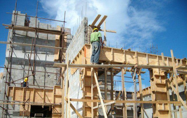 La construcción fue el sector que lideró el crecimiento económico en Rosario.