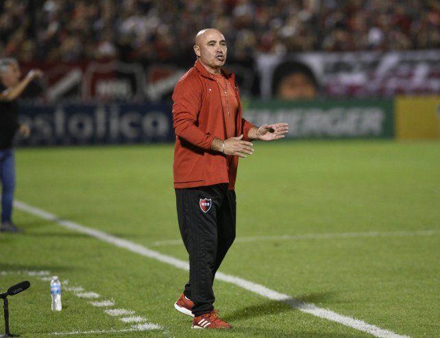 Siempre optimista. El entrenador rojinegro dijo que Godoy Cruz es un rival que no sabe esperar.