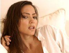 La modelo Natalia Fassi está muy preocupado por su posible embarazo