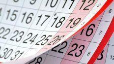 Cuáles son los días feriados que hay en el mes de agosto