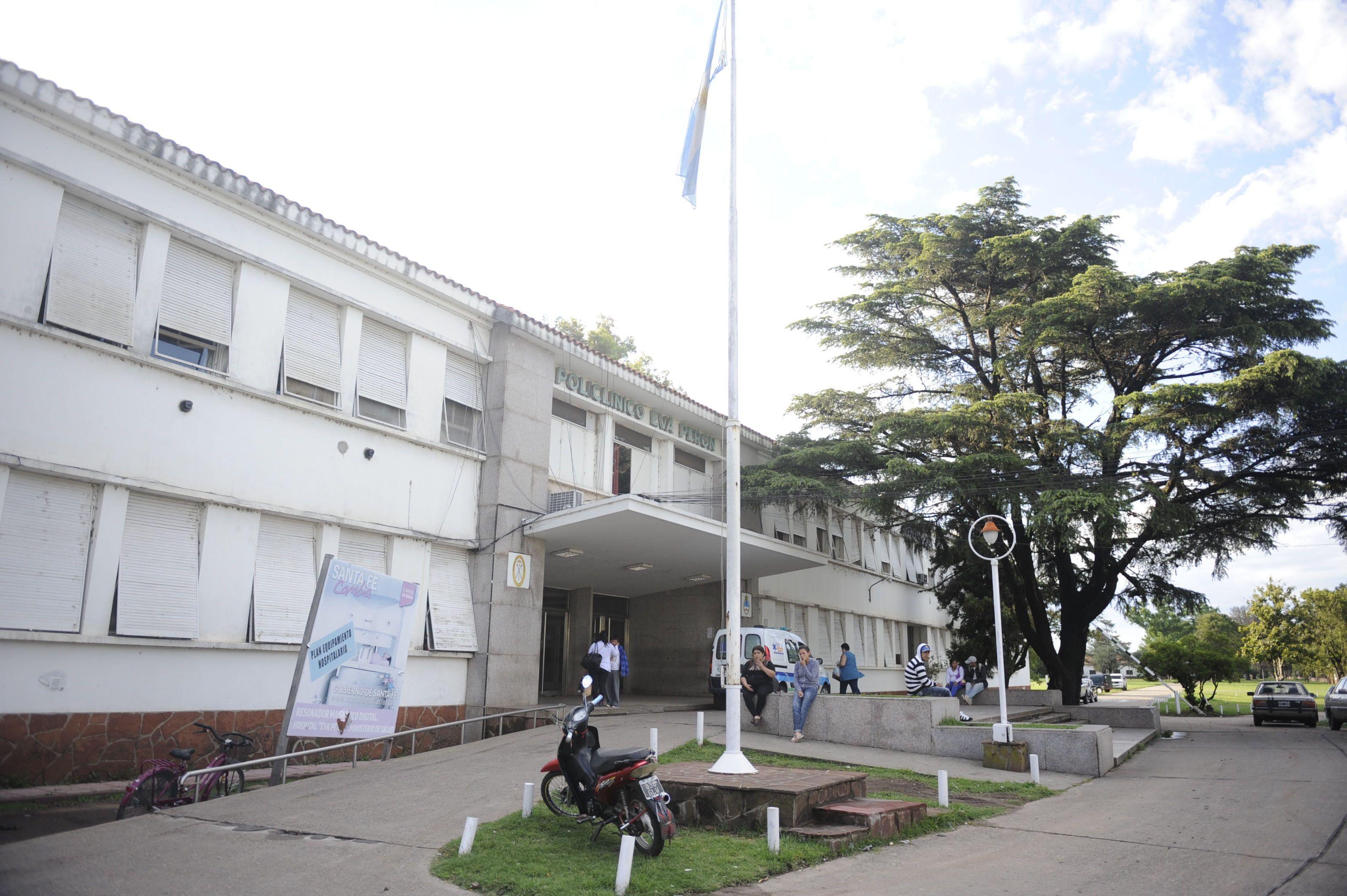 El Hospital Eva Perón. La víctima fue derivada a ese nosocomio
