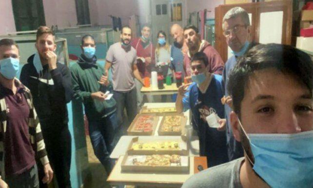Aislados por coronavirus arman una fiesta en un hospital de Colón