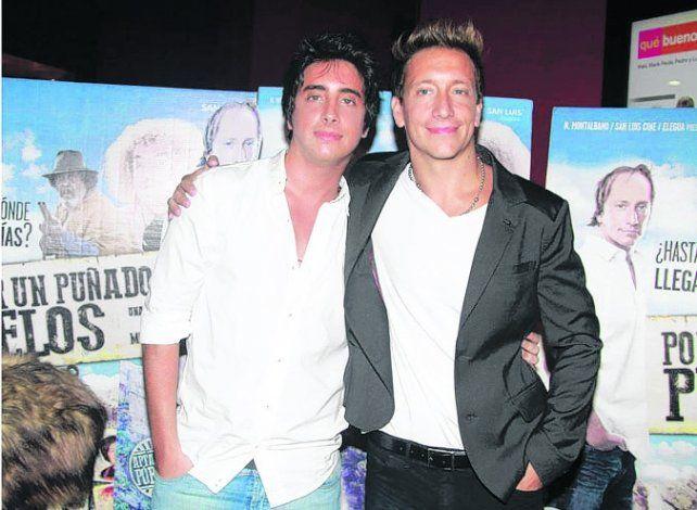 Penoso. Santiago y Nicolás en una fotografía reciente.