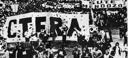 Marcha Blanca, la manifestación que unificó el reclamo docente