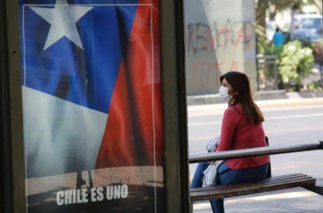 Chile reportó casi 7 mil contagios de coronavirus diarios