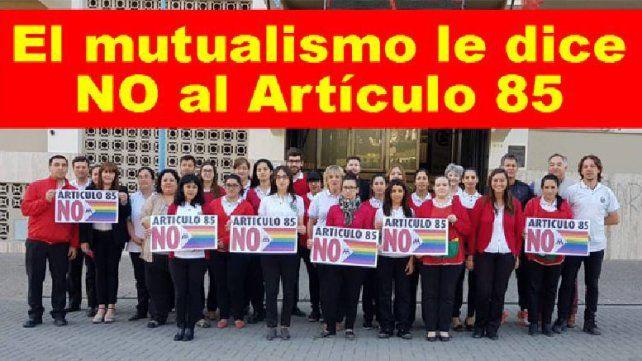 Sociedad Italiana. El movimiento mutualista y cooperativo sostiene que la medida afectará las inversiones y aportes del sector a la comunidad.