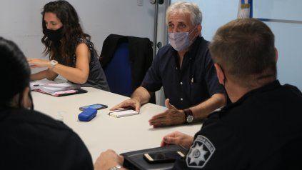 Los funcionarios delinearon los operativos policiales para evitar el accionar de pungas y mecheras.
