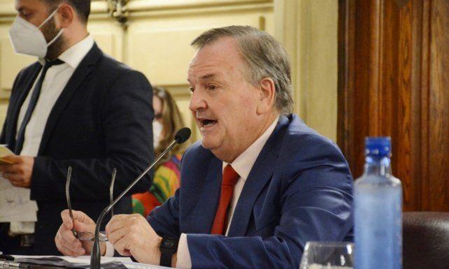 Felipe Michlig. El legislador pide por quienes cumplen un rol estratégico.