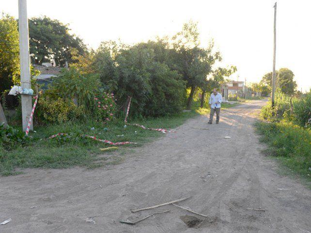 Escenario. La esquina donde ultimaron a Aldo Acosta en 2014.