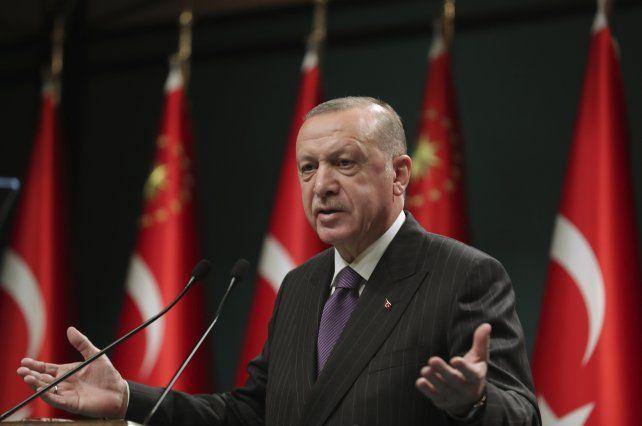 El presidente de Turquía