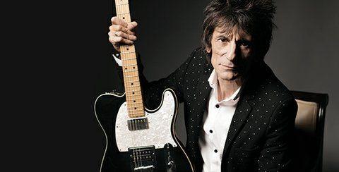 sorpresa. El guitarrista de los Stones guardó su secreto por meses..