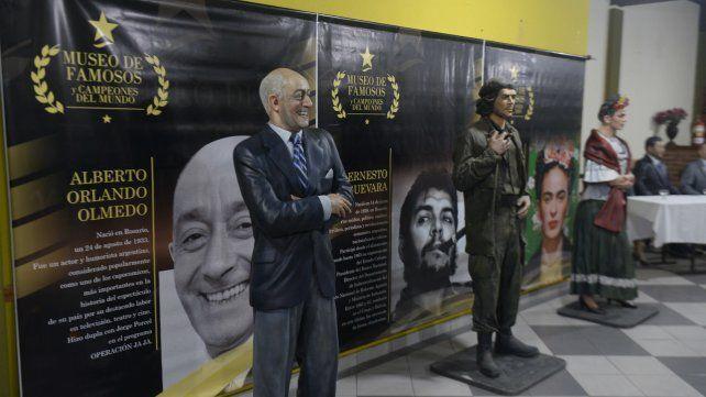Olmedo, el Che y Frida Khalo.