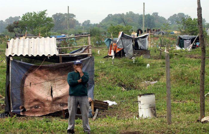Alrededor de tres mil familias tomaron un predio de 60 hectáreas.