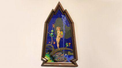 La obra de Ermete De Lorenzi adquirida para el patrimonio rosaraino: una témpera témpera Sin título, de 1932