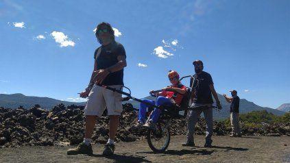 Parques Nacionales incorpora sillas de ruedas adaptadas para senderismo en zonas agrestes