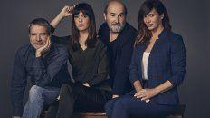 El dream team de Sentimental. Alberto San Juan, Belén Cuesta, Javier Cámara y Griselda Siciliana, la nominada argentina a los Goya, en la película de Cesc Gay.