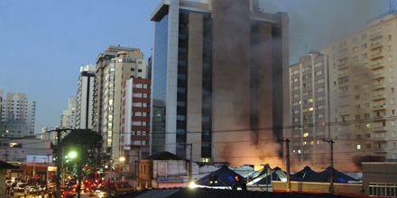 Negaron que un incendio en San Pablo fuera provocado por la caída de un avión