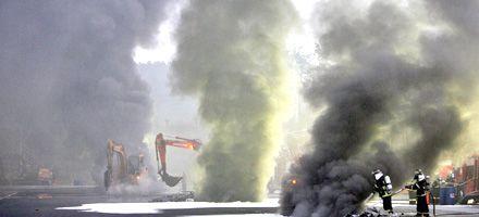 Corea del Sur: incendio en almacén causa al menos 22 muertos
