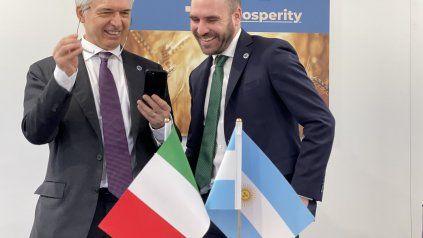 El ministro de Economía disertó en Venecia (Italia).