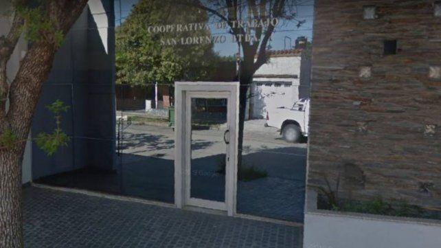 Sede de la Cooperativa de Trabajo San Lorenzo Limitada.