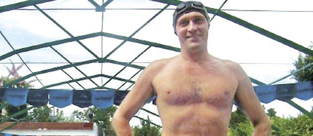 La natación era una pasión de Marcelo Abram