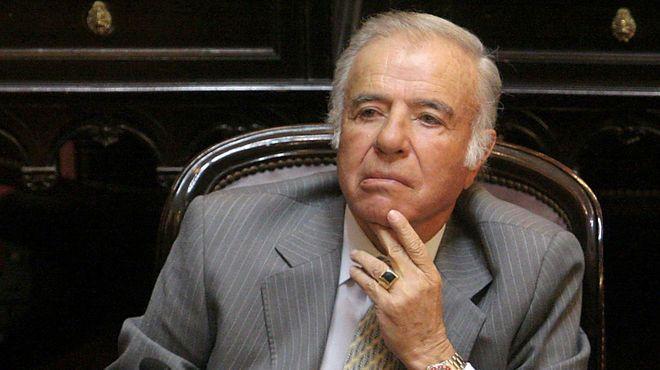 El ex presidente Carlos Menem fue citado a declarar como testigo en la causa en la que se investiga la muerte de su hijo Carlos Menem Jr.