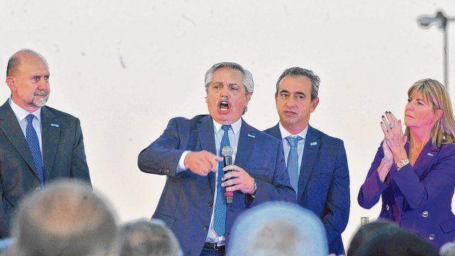 Alberto Fernández: Enfrentaremos el narcotráfico y el crimen organizado