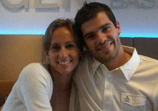 Gago y Dulko hace tres meses se convirtieron en padres de Antonella.