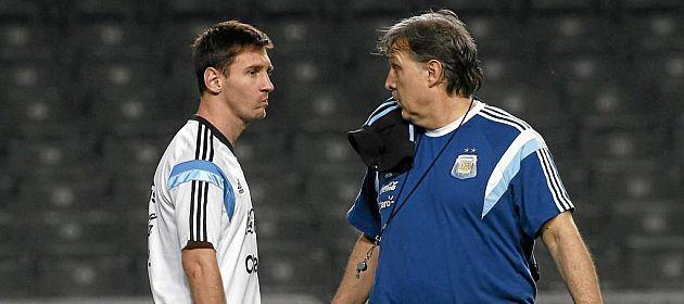 Martino afirmó que, si fuera Messi ya hubiese dejado de jugar en la selección