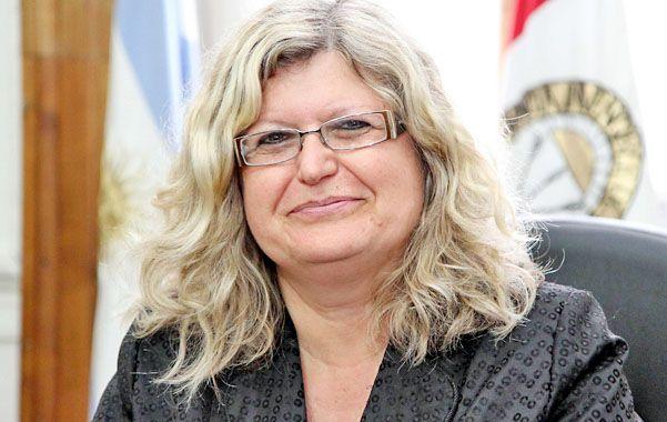 Balance. Claudia Balagué destacó las intervenciones que se vienen realizando en los establecimientos escolares.