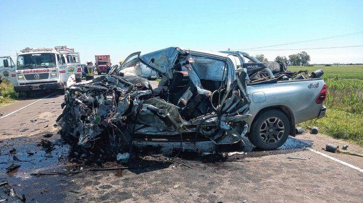 Un grave accidente en la ruta 16 dejó dos personas heridas