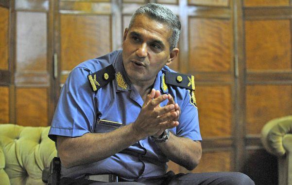 El comisario José Luis Amaya pasó gran parte de su carrera en la Agrupación Cuerpos y por eso tiene formación de calle.