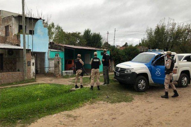 Allanamientos en el norte de la provincia por una banda de narcomenudeo