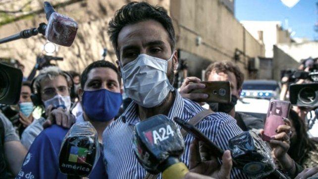 INVESTIGADO. El médico Leopoldo Luque pidió a través de sus abogados la eximición de prisión.