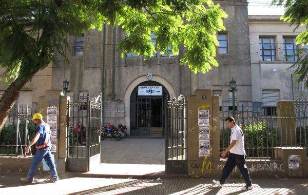 El colegio. El otrora emblemático Nacional Nº1