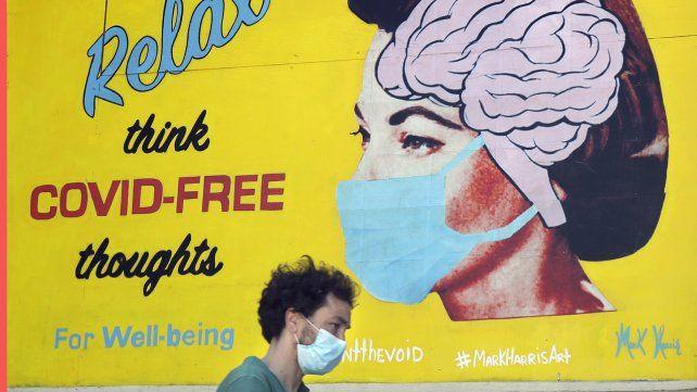 Veinte imágenes del lunes en un mundo en crisis por el coronavirus