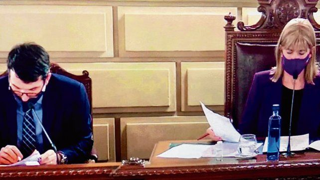 La vicegobernadora Rodenas presidió la sesión del Senado santafesino.