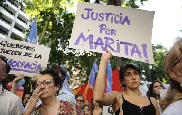Caso testigo. La absolución de los 13 imputados por el secuestro de Marita Verón desató la bronca en la sociedad.