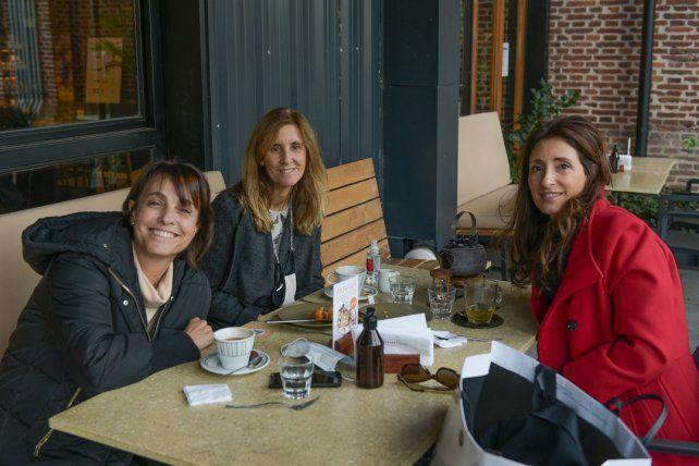 Verónica cajal, Julieta Votalio y Constanza Racciatti