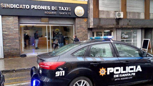 Allanaron el Sindicado de Peones de Taxis por la denuncia contra Horacio Boix